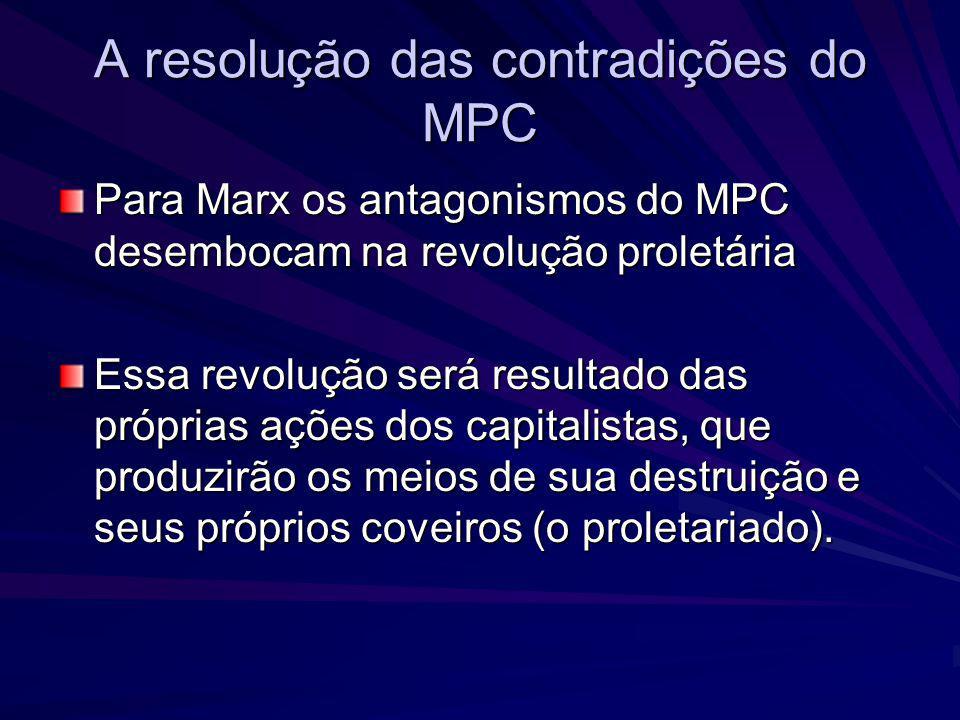 A resolução das contradições do MPC