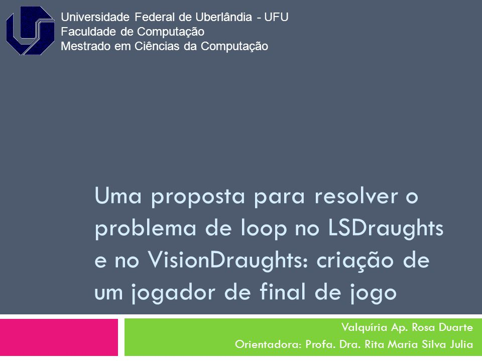 Universidade Federal de Uberlândia - UFU