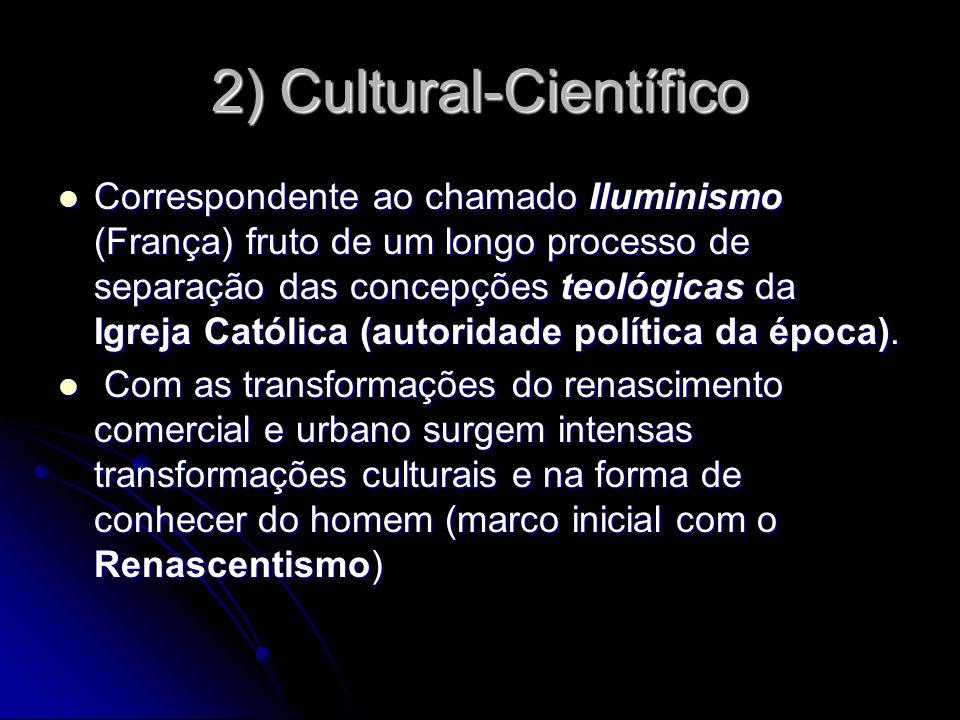 2) Cultural-Científico
