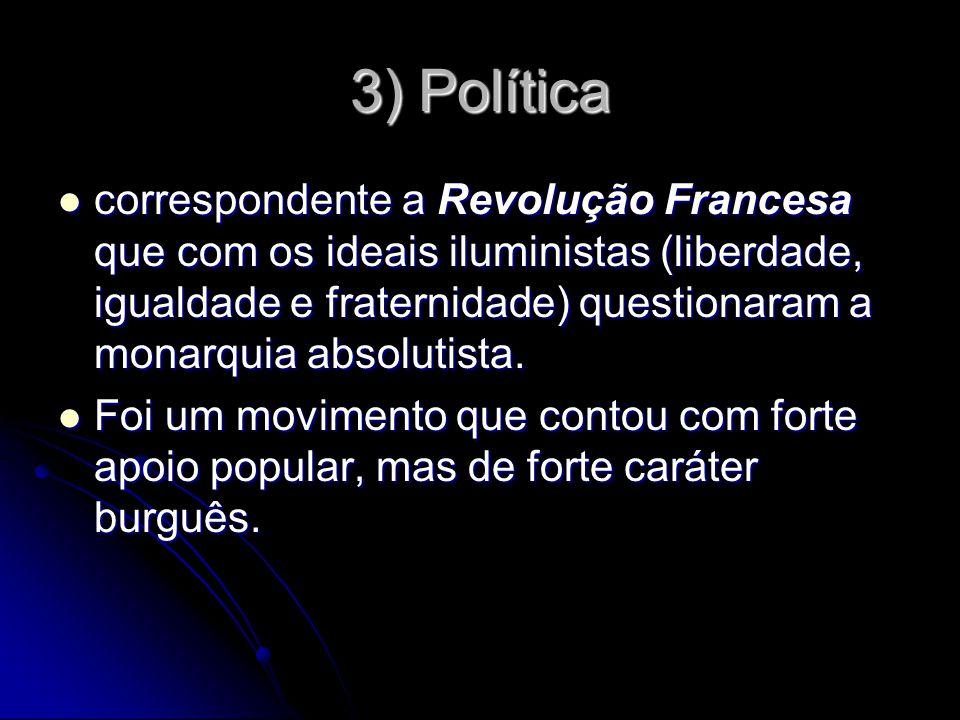 3) Política