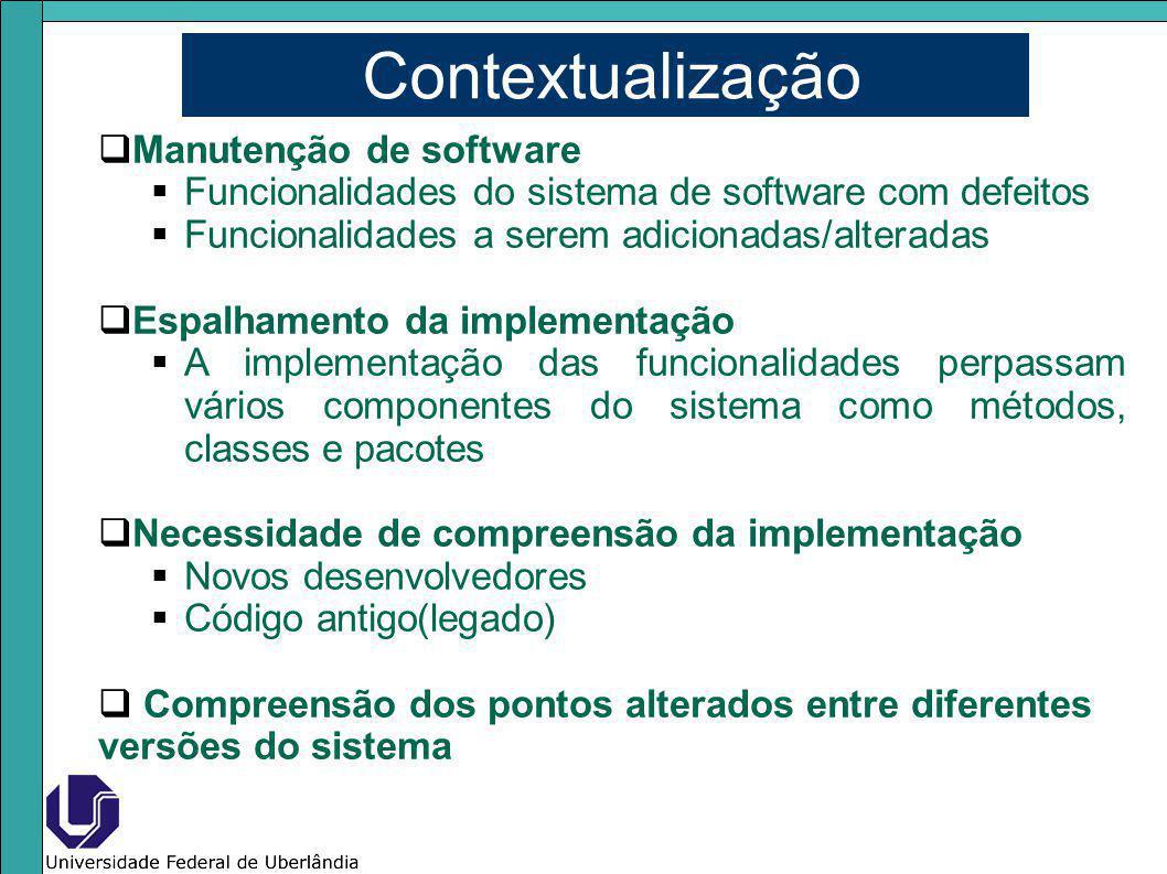 Contextualização Manutenção de software