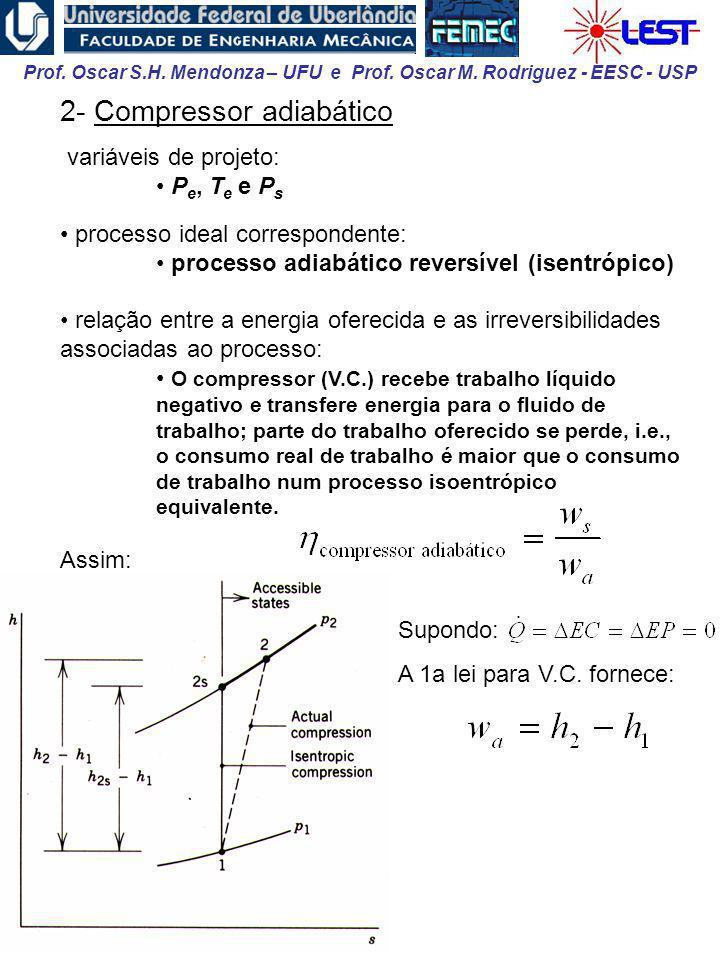2- Compressor adiabático