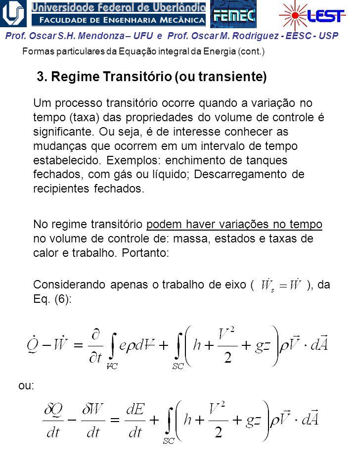 3. Regime Transitório (ou transiente)