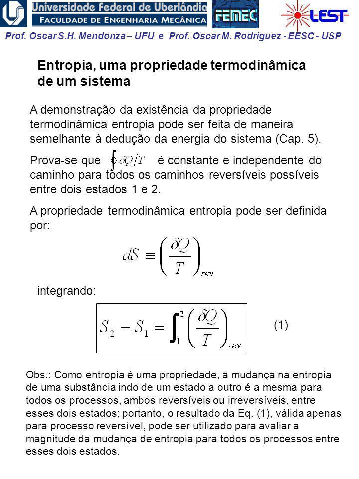 Entropia, uma propriedade termodinâmica de um sistema