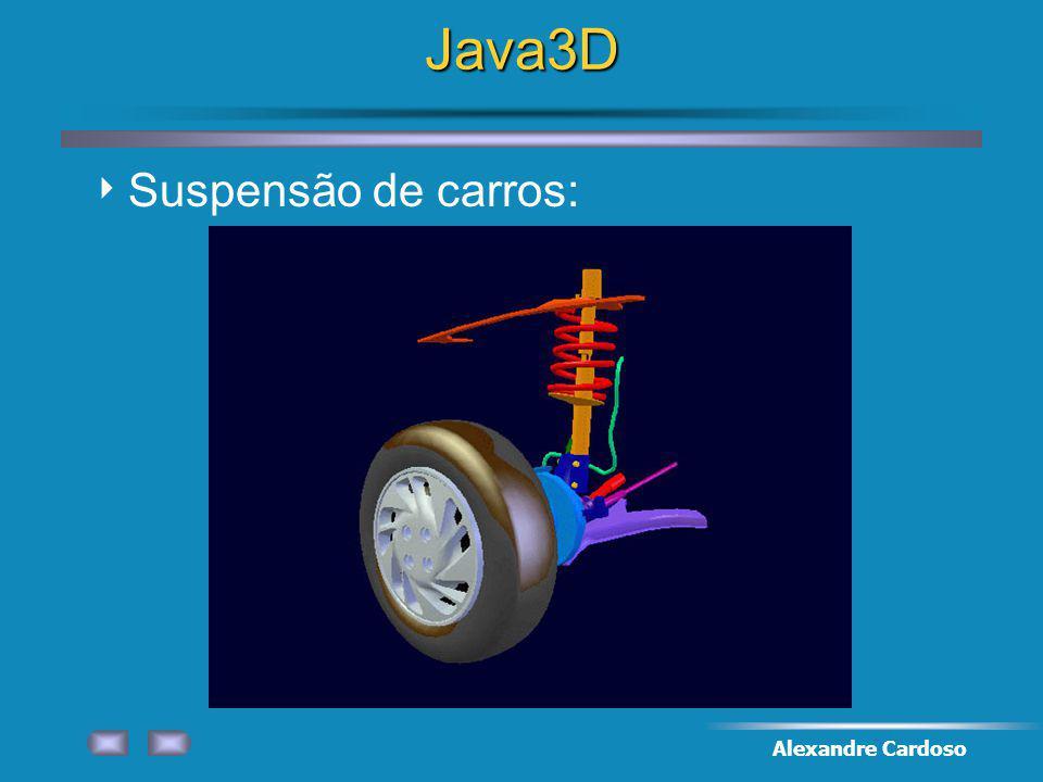 Java3D Suspensão de carros: Alexandre Cardoso