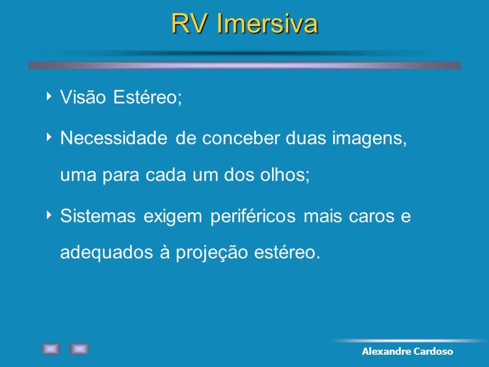 RV Imersiva Visão Estéreo;