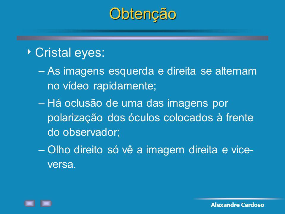 Obtenção Cristal eyes: