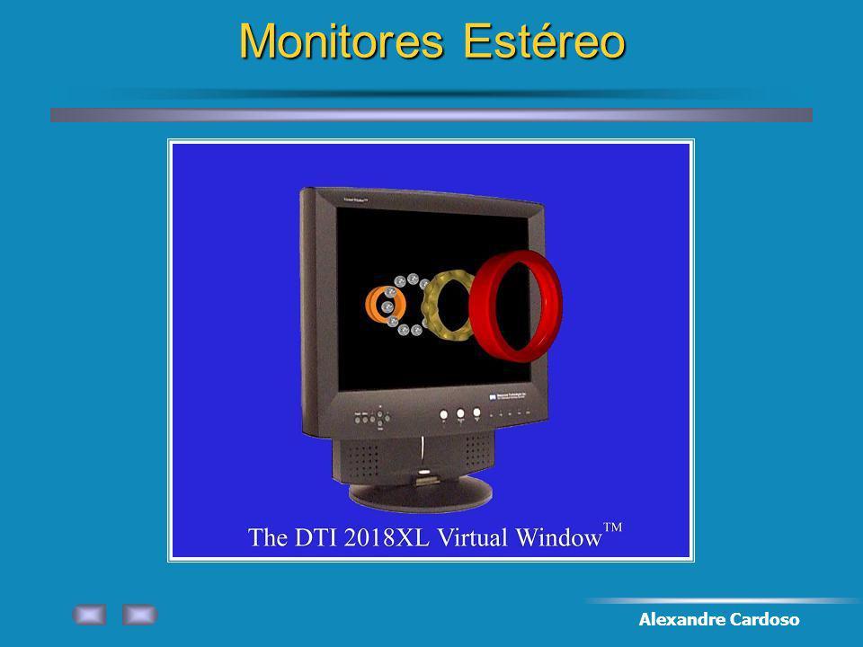 Monitores Estéreo Alexandre Cardoso