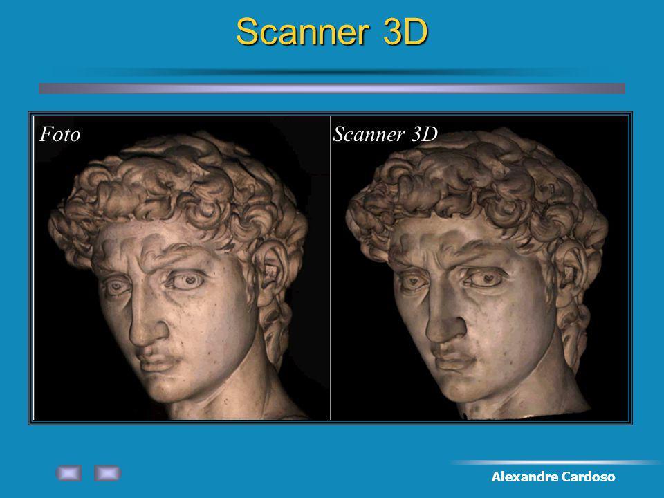 Scanner 3D Foto Scanner 3D Alexandre Cardoso