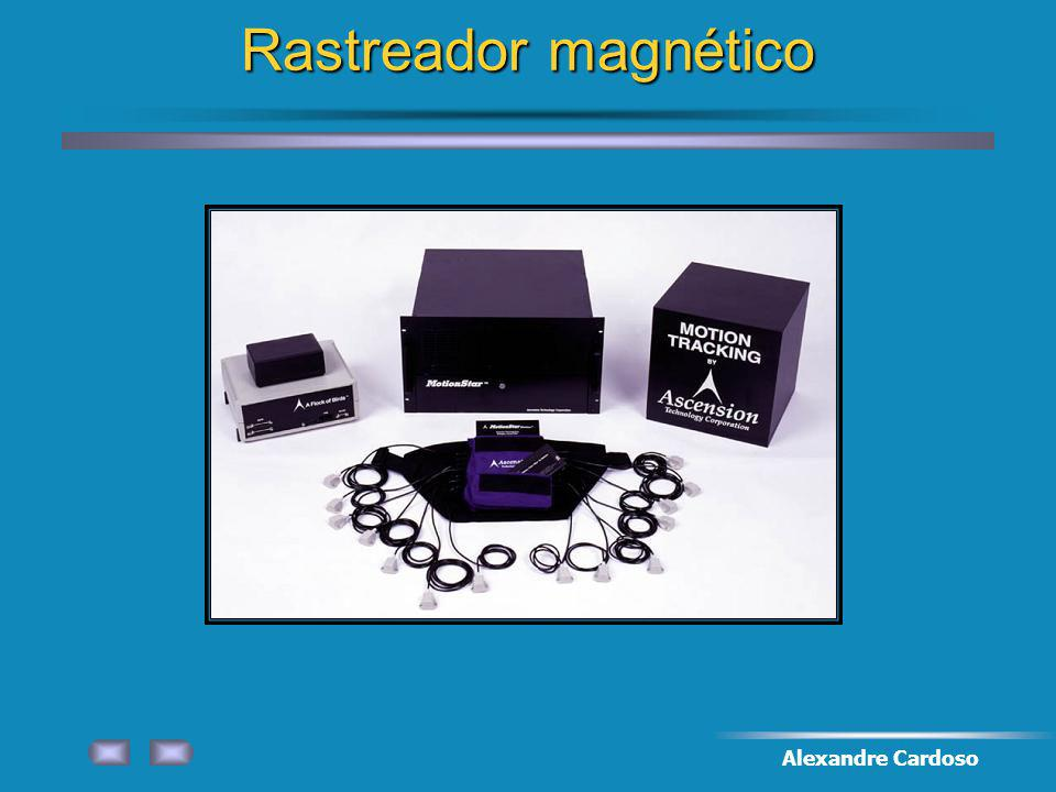Rastreador magnético Alexandre Cardoso