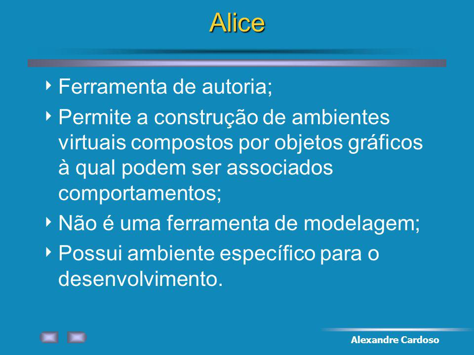 Alice Ferramenta de autoria;