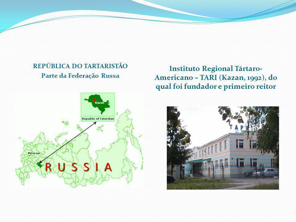 REPÚBLICA DO TARTARISTÃO Parte da Federação Russa
