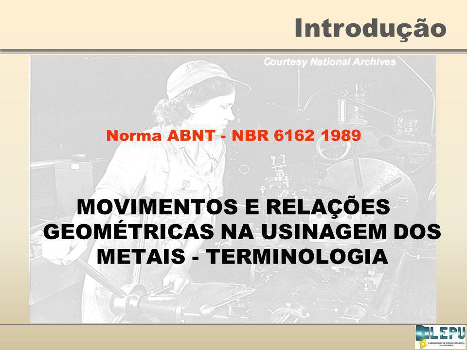 Introdução Norma ABNT - NBR 6162 1989.