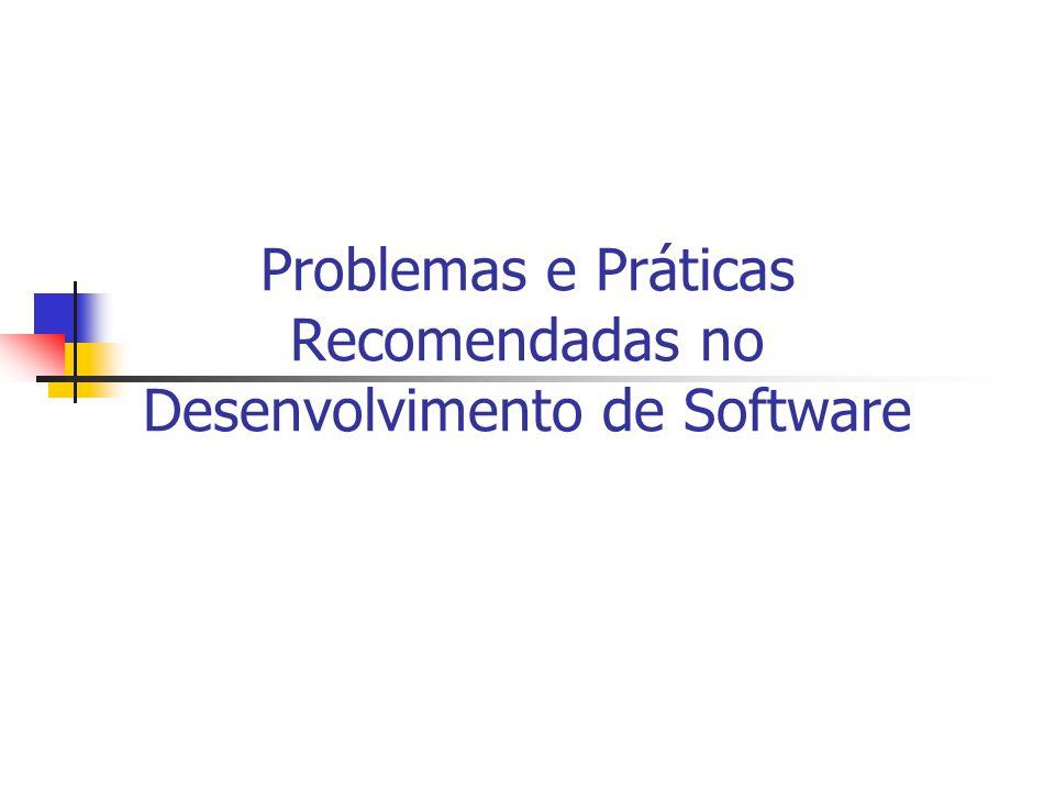 Problemas e Práticas Recomendadas no Desenvolvimento de Software