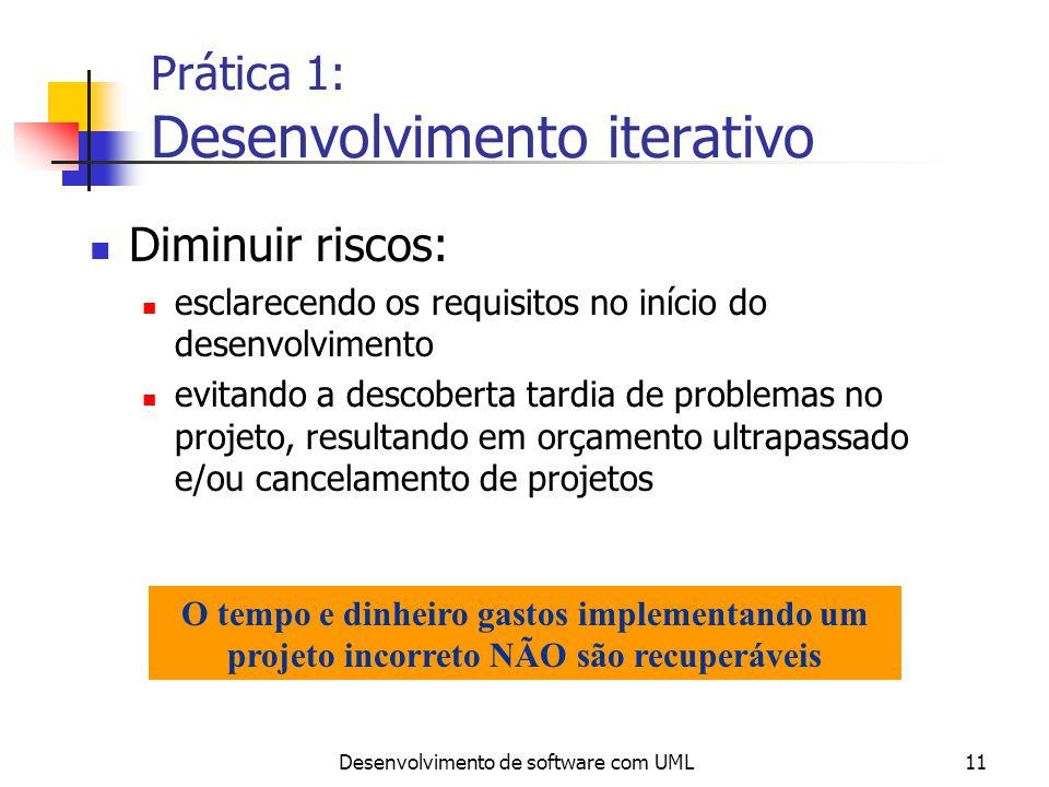 Prática 1: Desenvolvimento iterativo