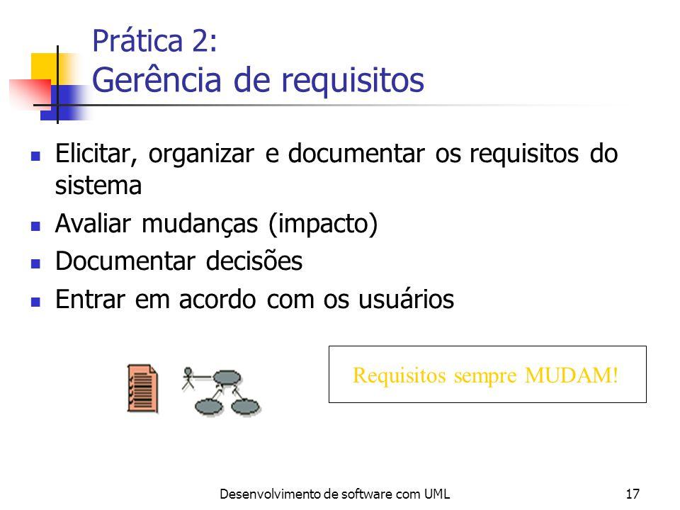 Prática 2: Gerência de requisitos