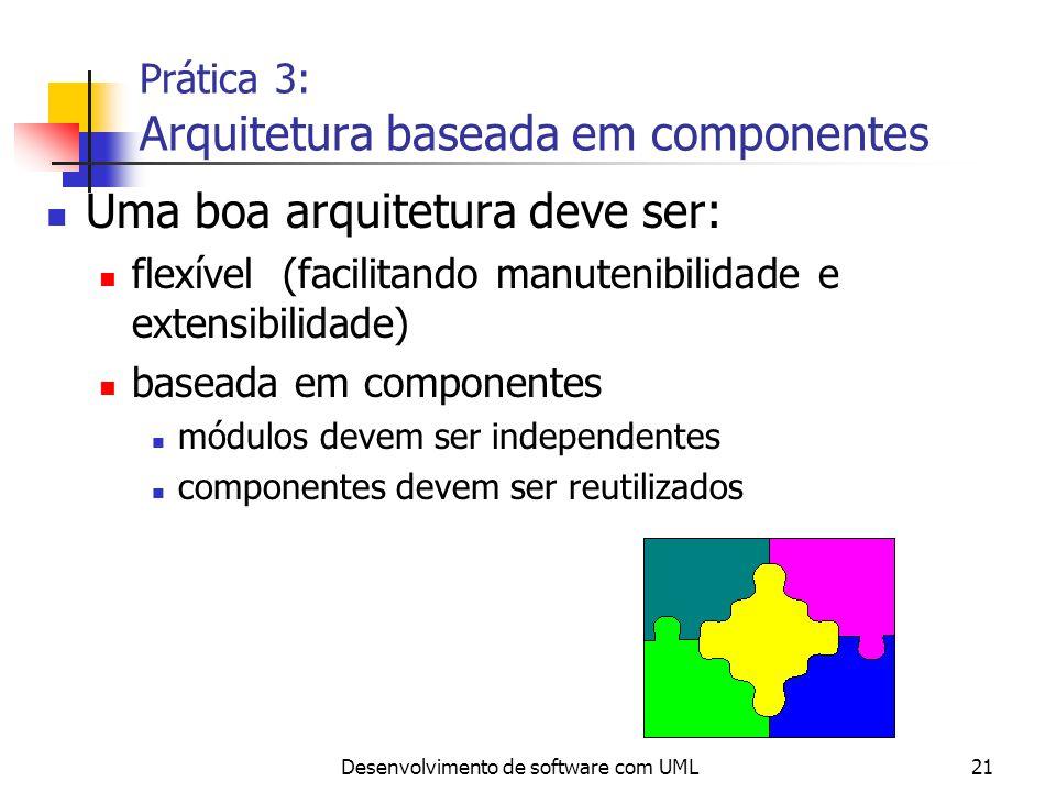 Prática 3: Arquitetura baseada em componentes