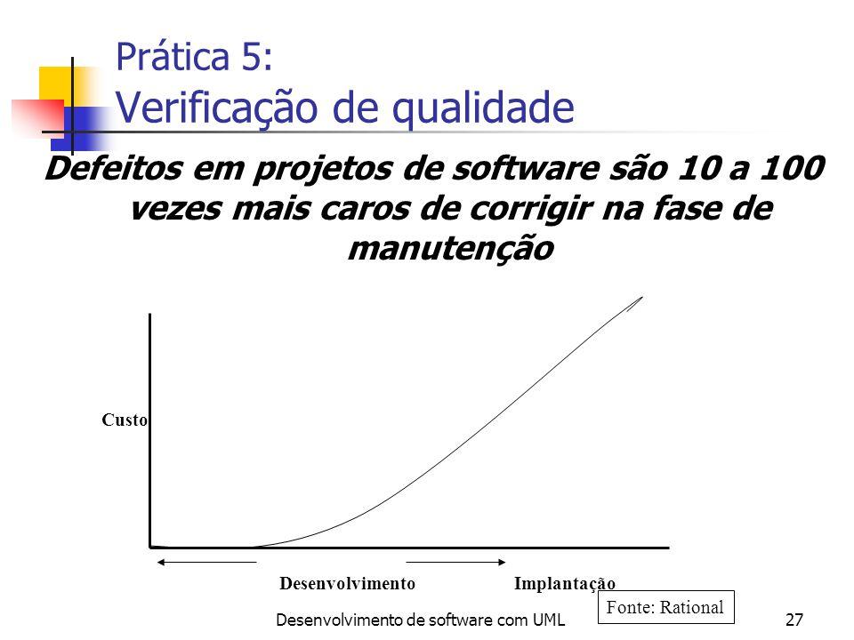 Prática 5: Verificação de qualidade