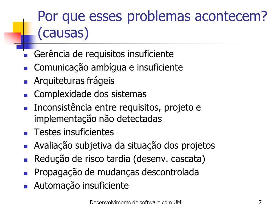 Por que esses problemas acontecem (causas)