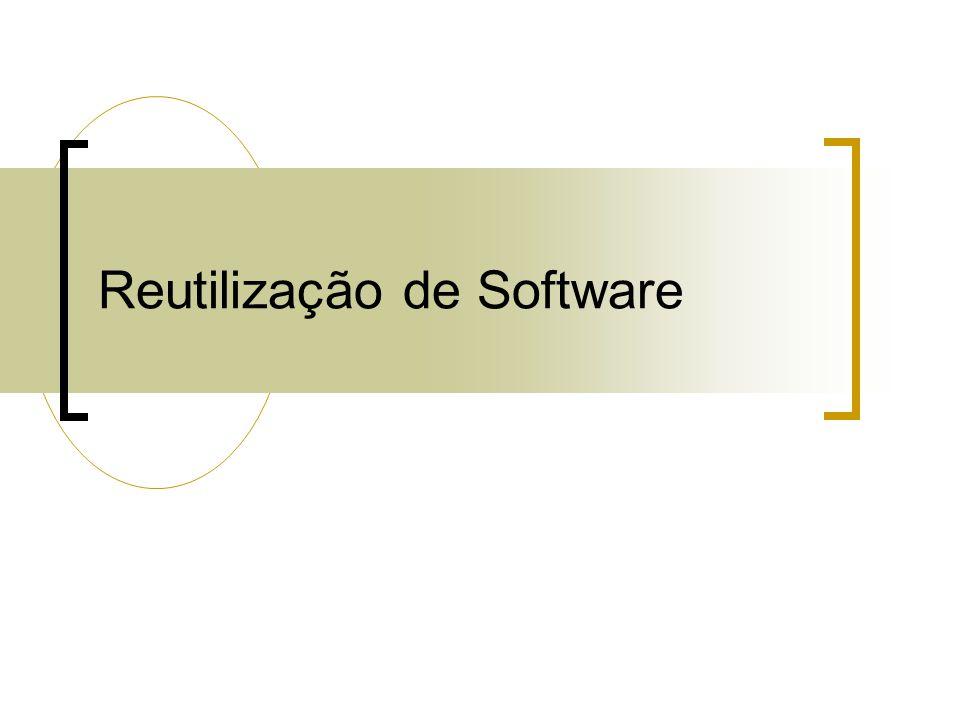 Reutilização de Software