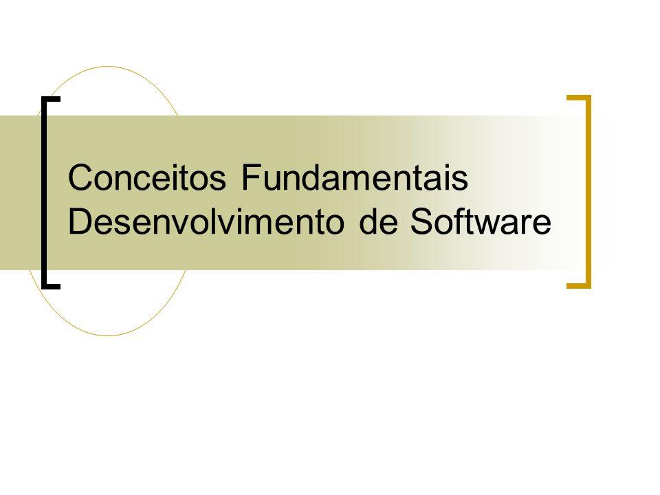 Conceitos Fundamentais Desenvolvimento de Software