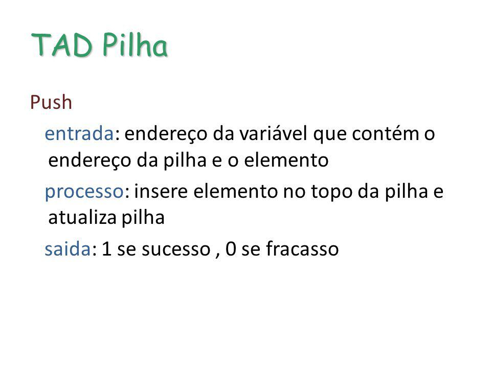 TAD Pilha