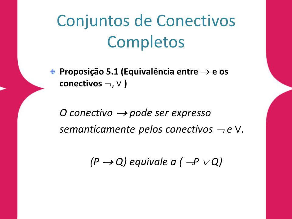 Conjuntos de Conectivos Completos