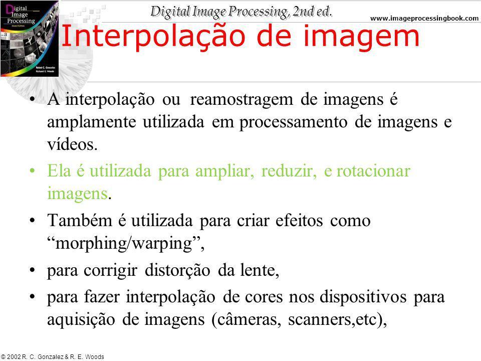 Interpolação de imagem