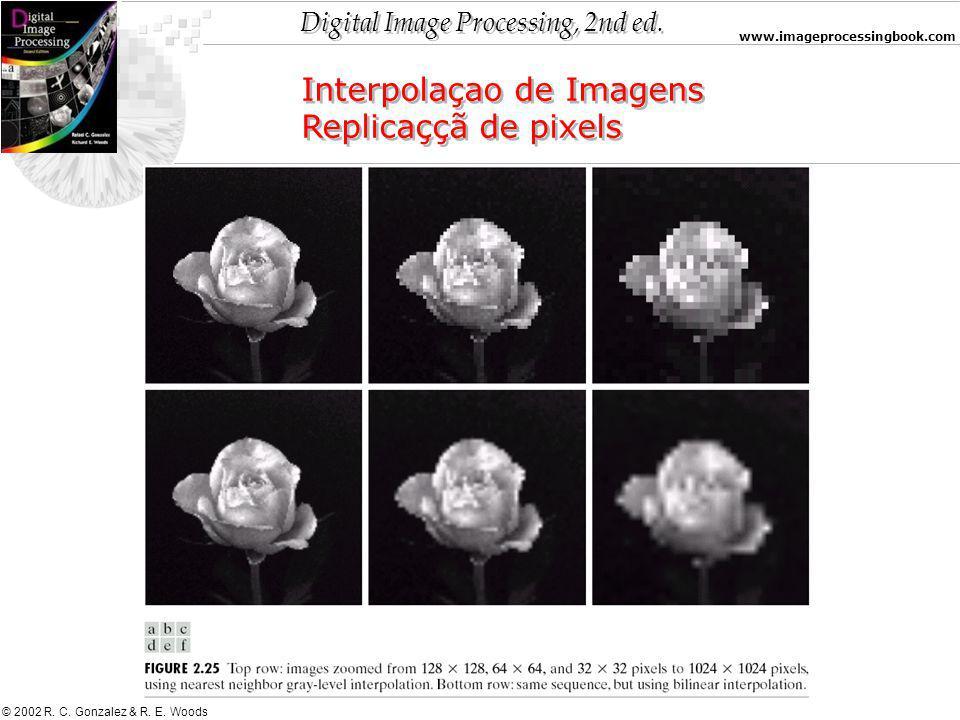 Interpolaçao de Imagens