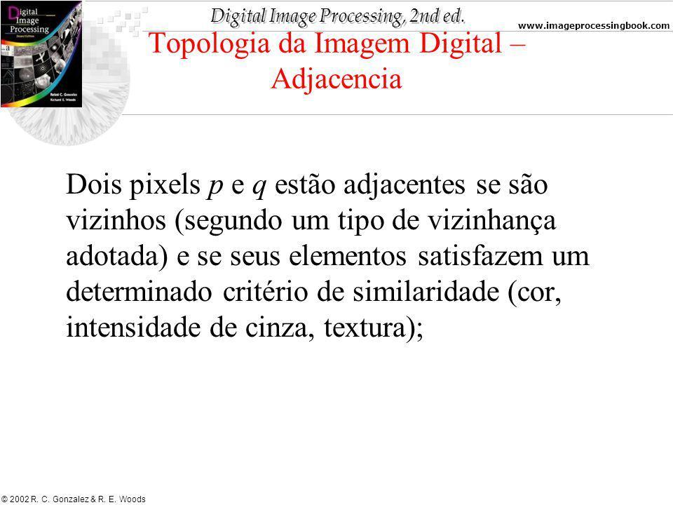 Topologia da Imagem Digital – Adjacencia