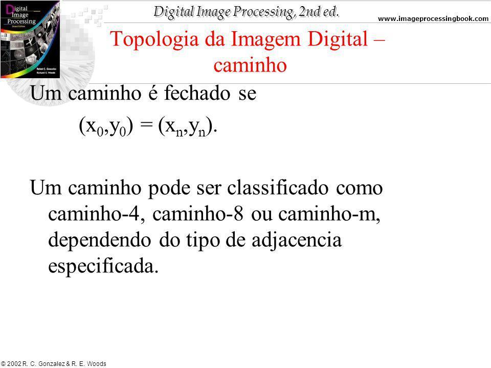 Topologia da Imagem Digital – caminho