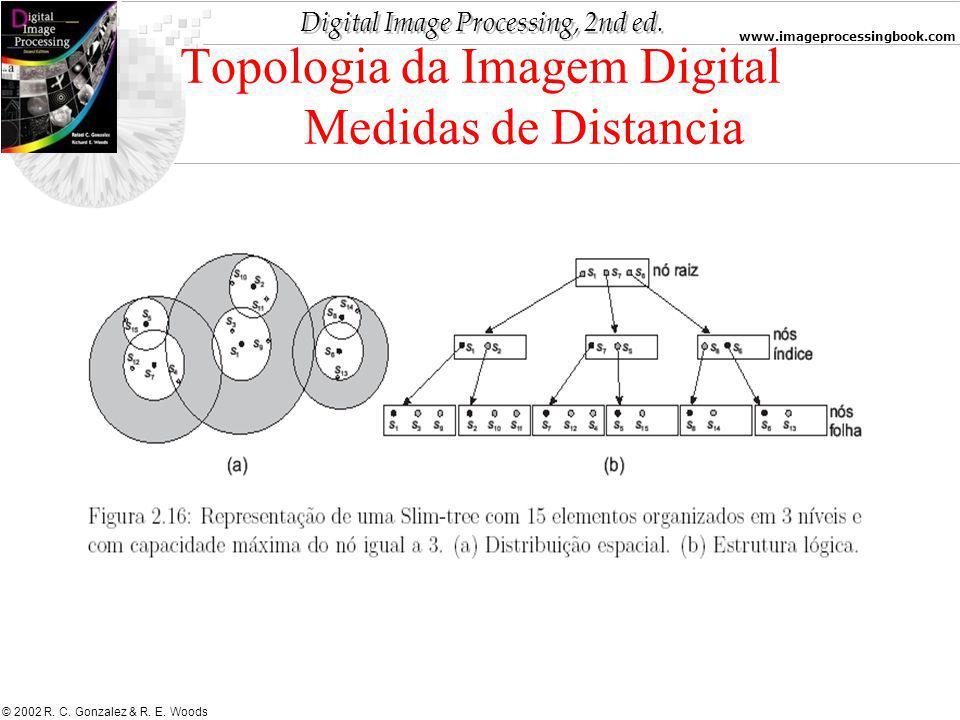 Topologia da Imagem Digital Medidas de Distancia