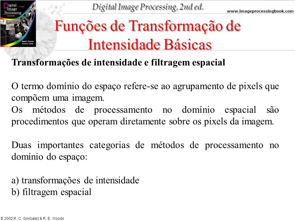 Funções de Transformação de