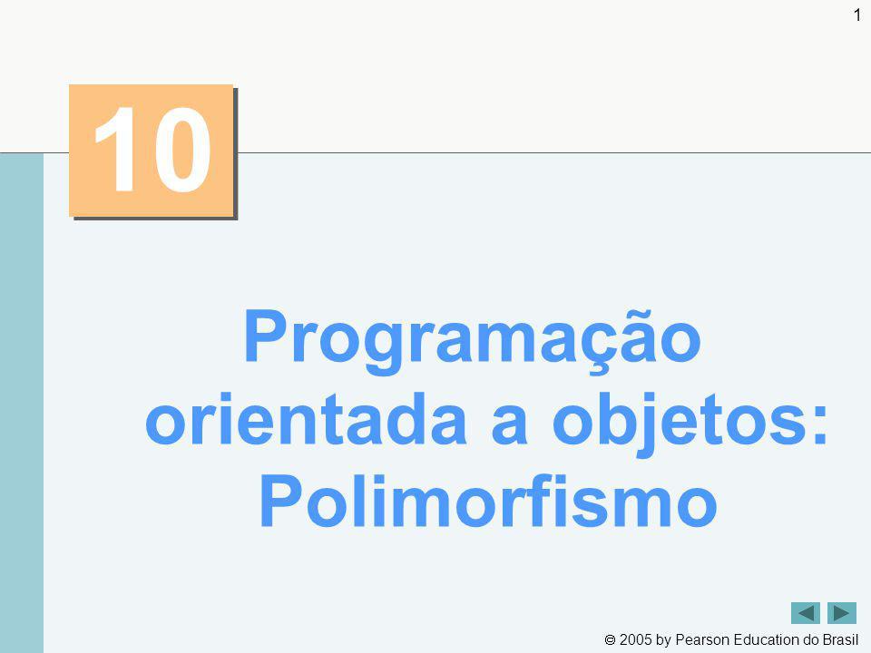 Programação orientada a objetos: Polimorfismo