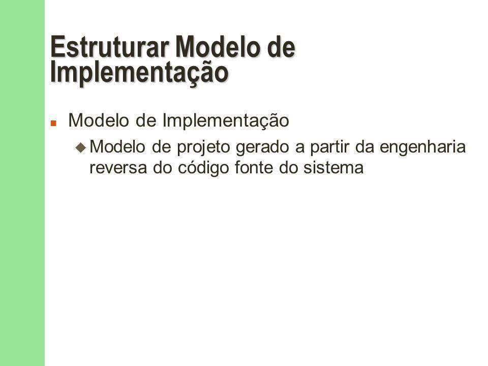 Estruturar Modelo de Implementação
