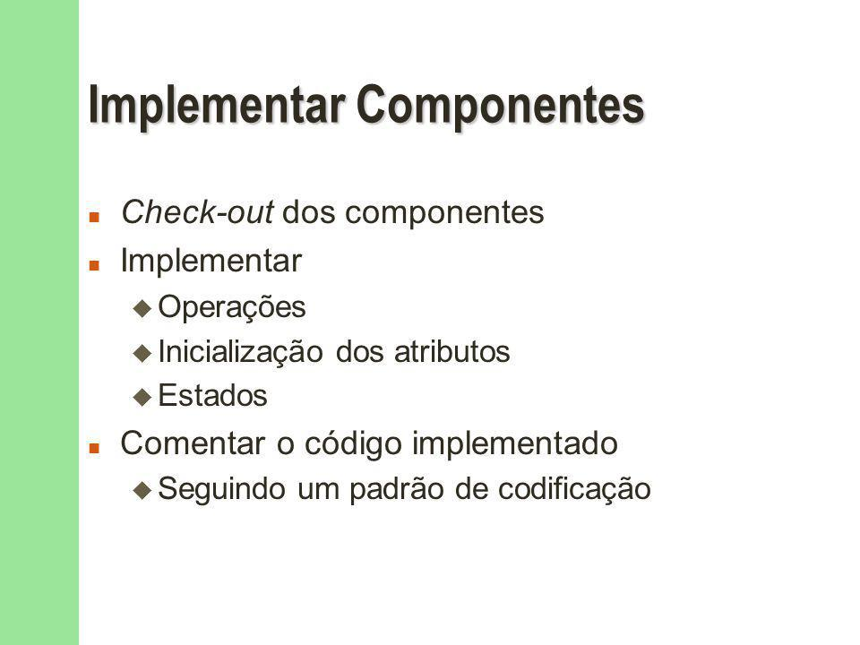 Implementar Componentes