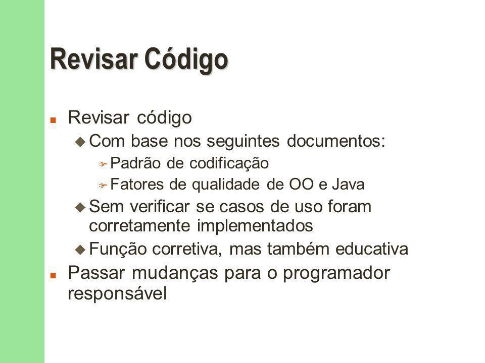 Revisar Código Revisar código