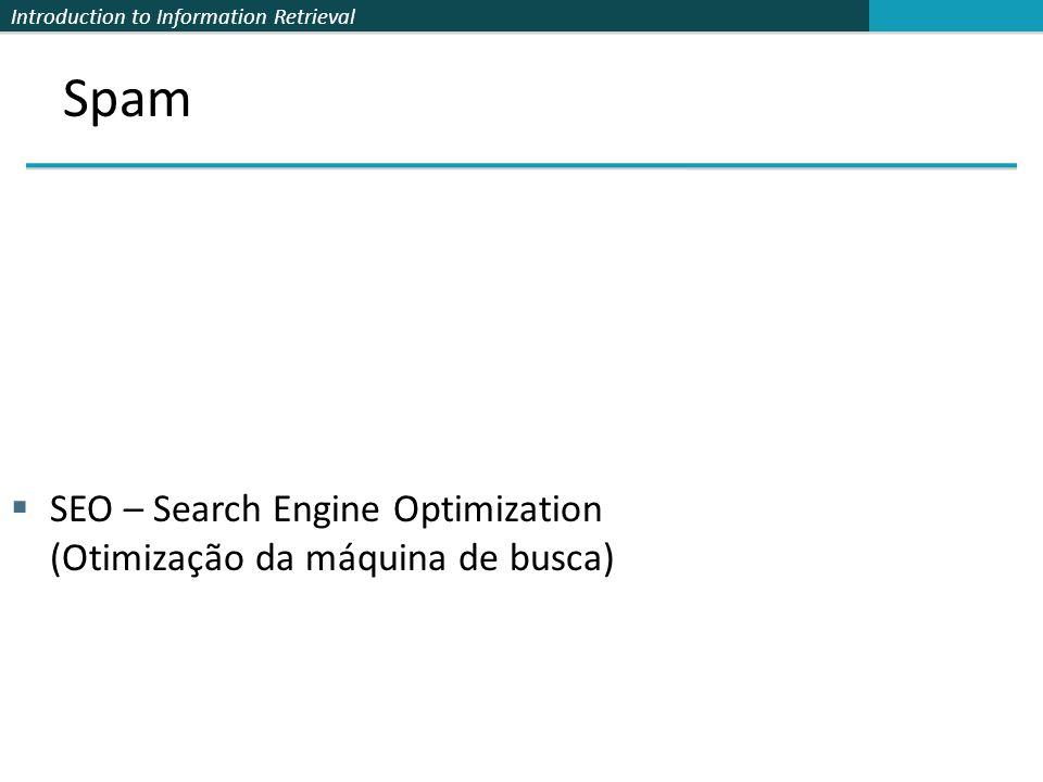 SEO – Search Engine Optimization (Otimização da máquina de busca)