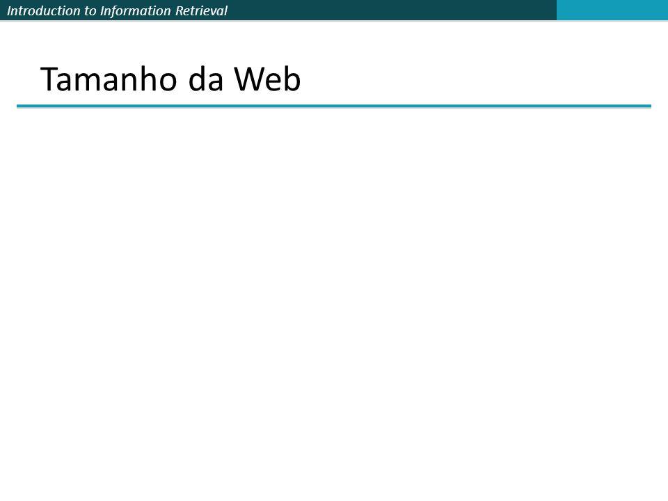 Tamanho da Web