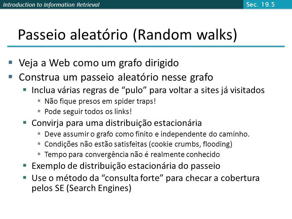 Passeio aleatório (Random walks)
