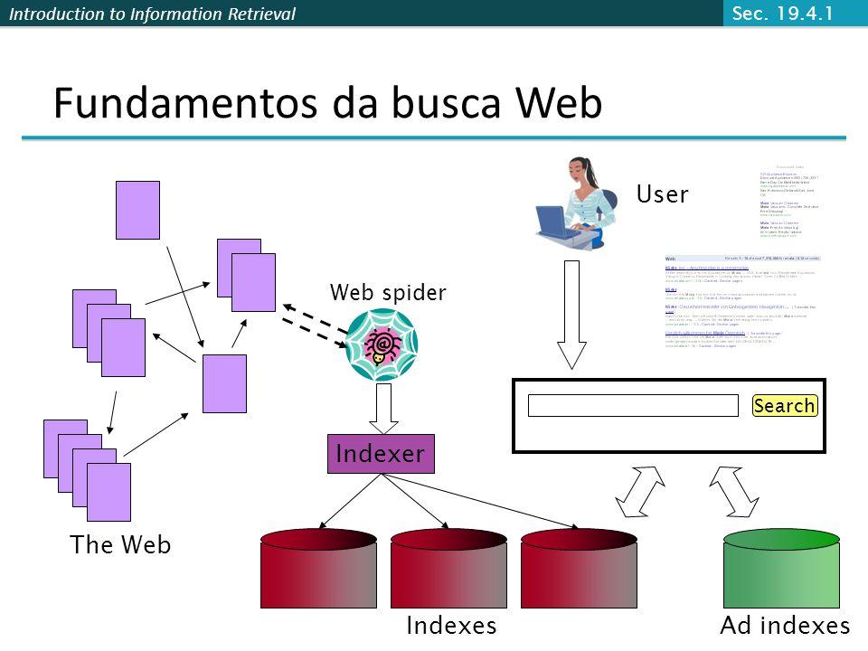Fundamentos da busca Web