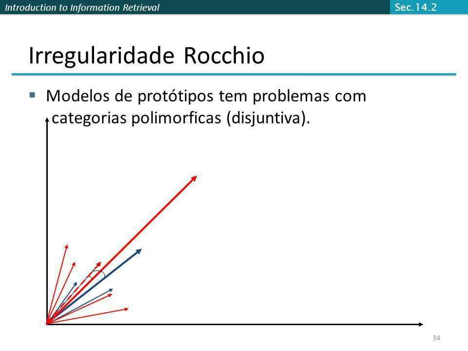 Irregularidade Rocchio