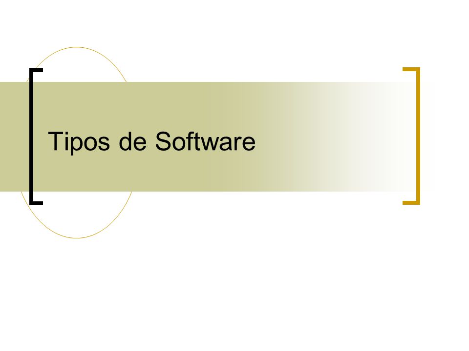 Tipos de Software 14