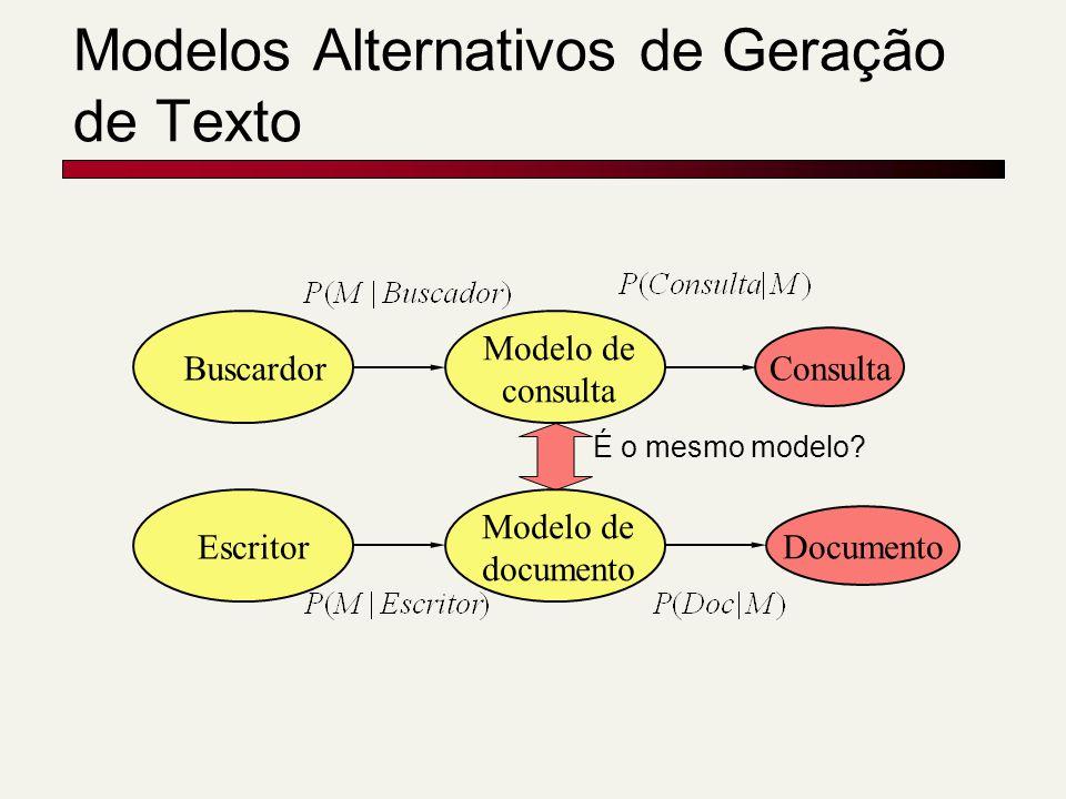 Modelos Alternativos de Geração de Texto