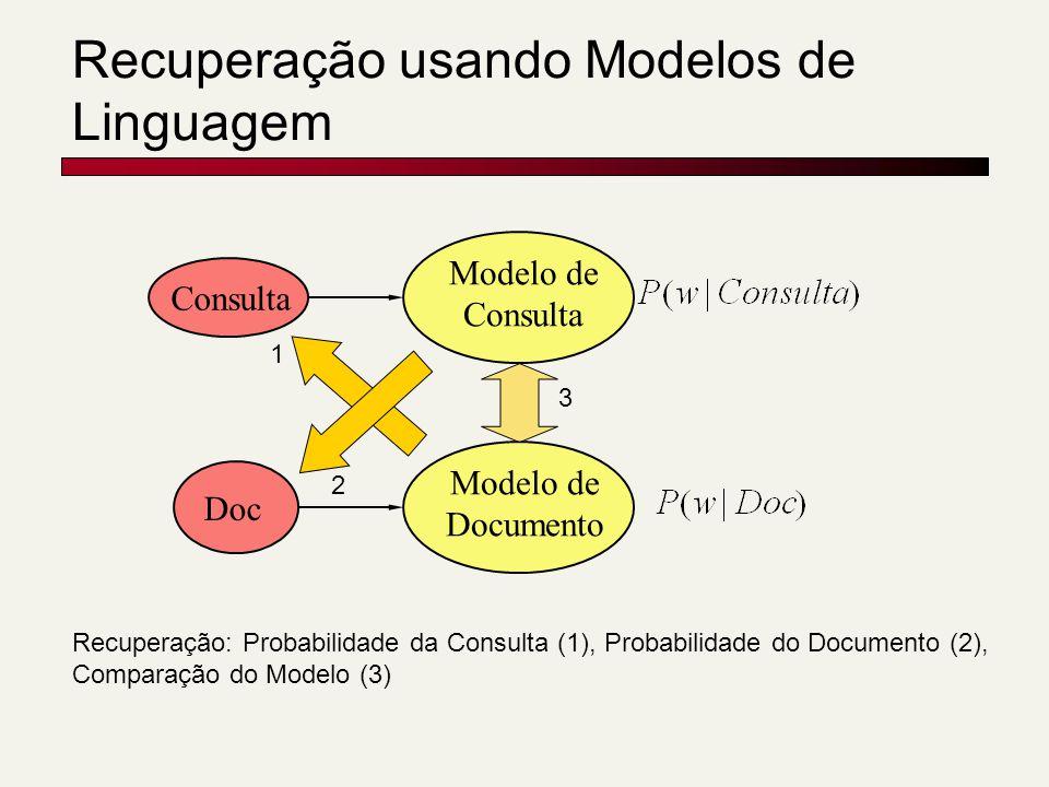 Recuperação usando Modelos de Linguagem