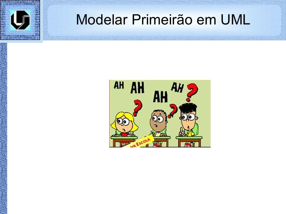 Modelar Primeirão em UML