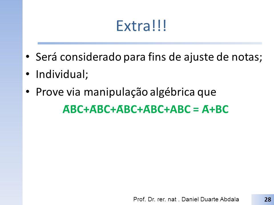 ĀB̄C+ĀB̄C̄+ĀBC+ĀBC̄+ABC = Ā+BC