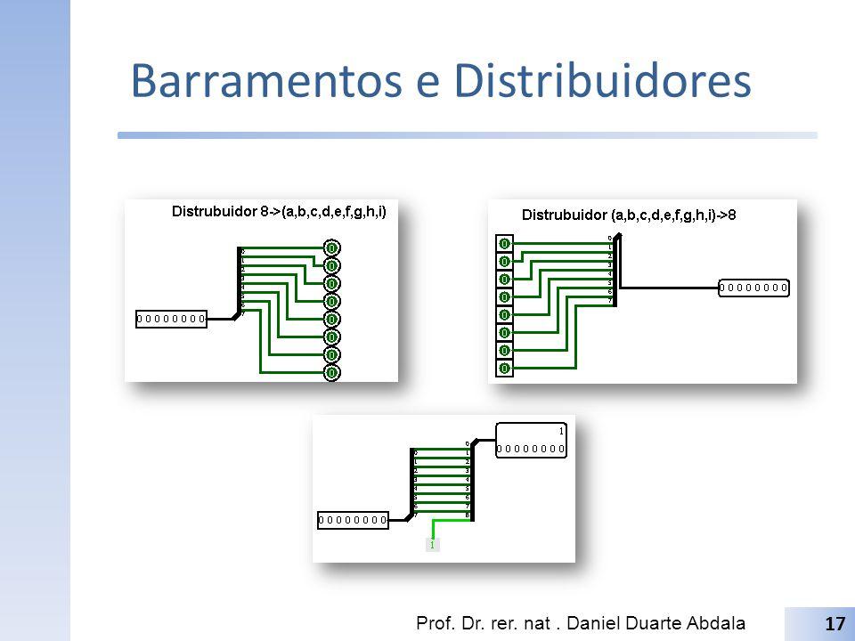 Barramentos e Distribuidores
