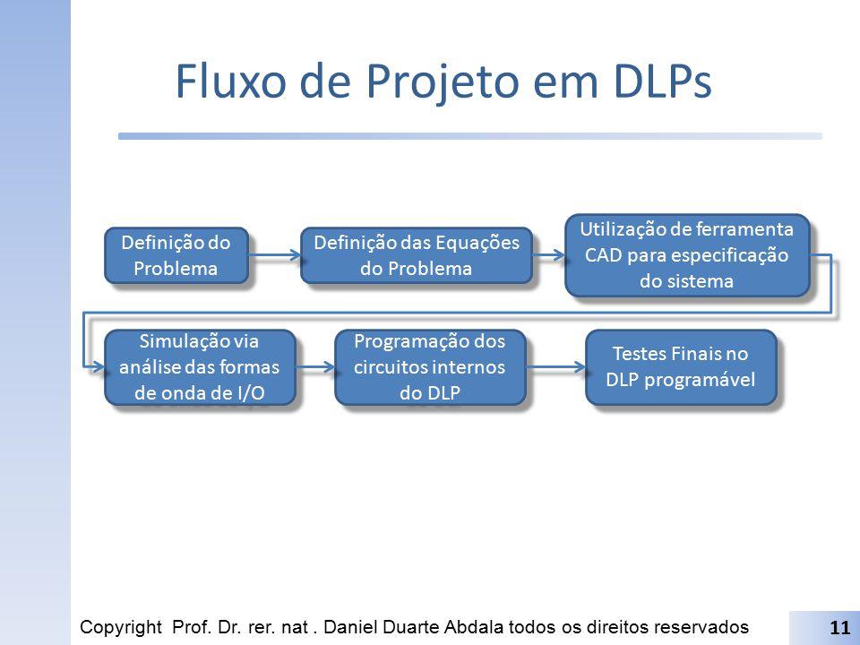 Fluxo de Projeto em DLPs