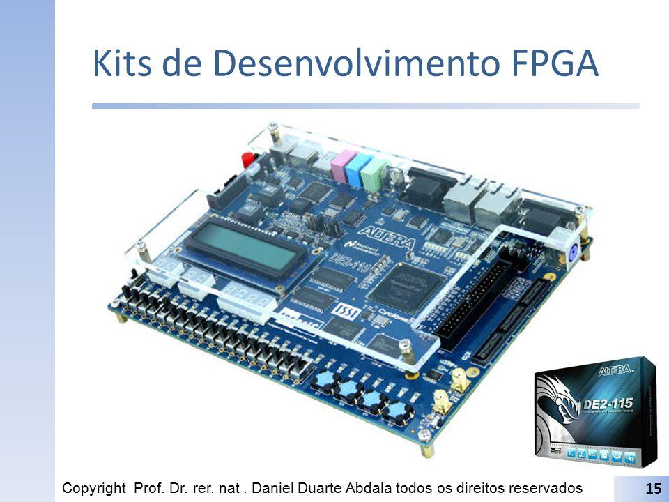 Kits de Desenvolvimento FPGA